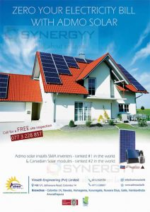 Solar Power Electricity from Admo Solar Energy