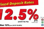 12.5% P.A for 3 Month Fixed Deposits from Seylan Bank