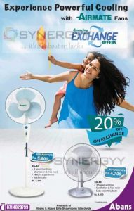 Airmate Fans – Exchange offer and 20% off from Abans