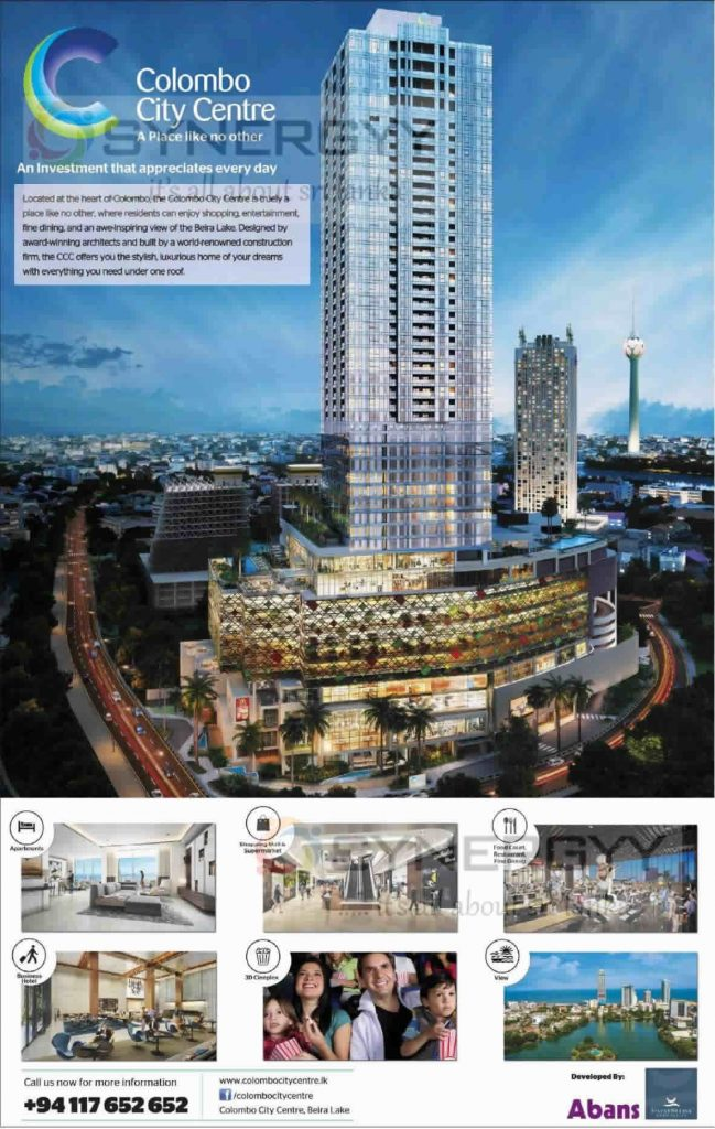 Colombo City Centre – 48 Stories Building with Over a million Sq. Ft