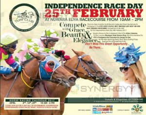Independence Race Day – Horse Racing at Nuwara Eliya on 25th Feb 2017