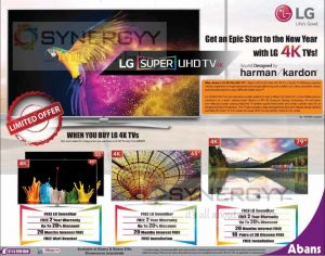 LG 4K Tvs for Rs. 199,999/- Upwards