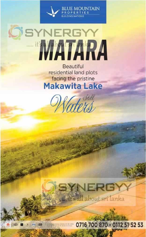 Lake Front Houses at Matara by Blue Mountain