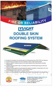 Lysaght Double Skin Roofing System from Bluescope Lysaght Lanka (Pvt) Ltd