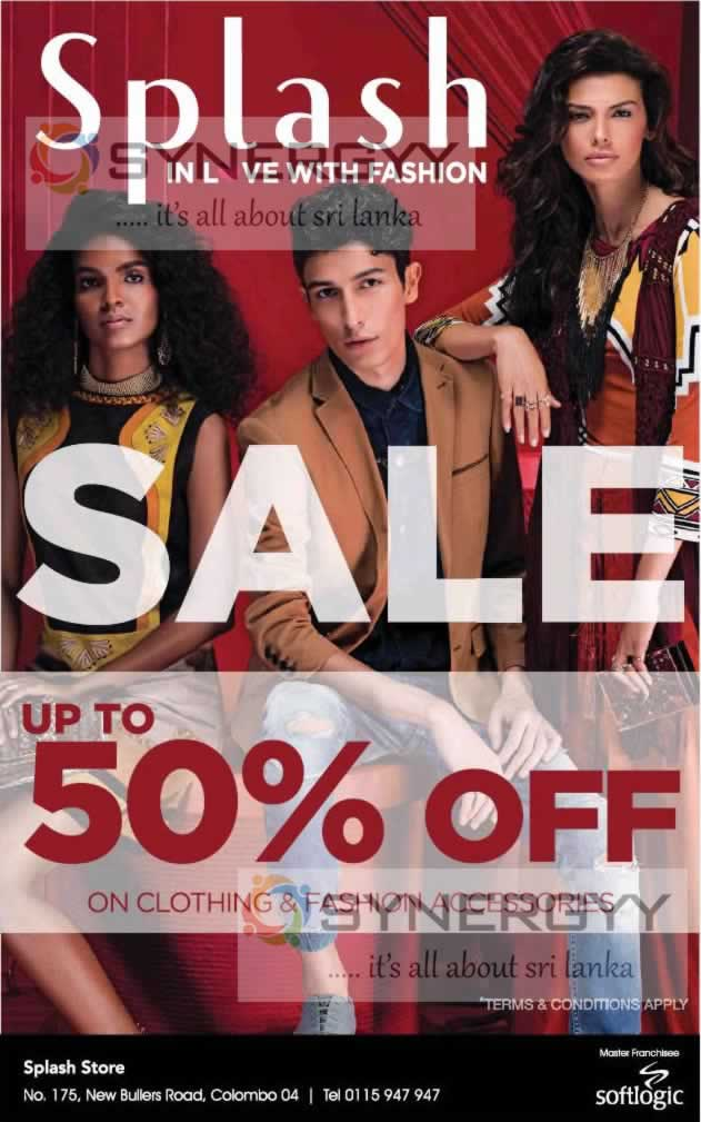 Up to 50% Off at Splash