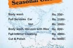 Car Wash Promotion till End April by Clean Tech Auto Care