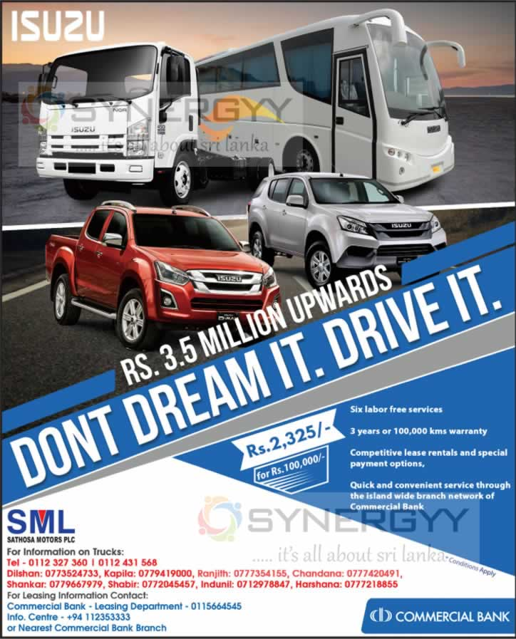Commercial Bank Leasing for Isuzu