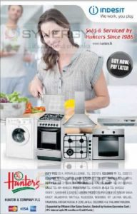 Indesit Home Appliances in Sri Lanka from Hunters