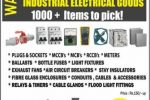 Industrial Electrical Goods – Bargain Sale