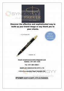 Parker Pen as your corporate gift