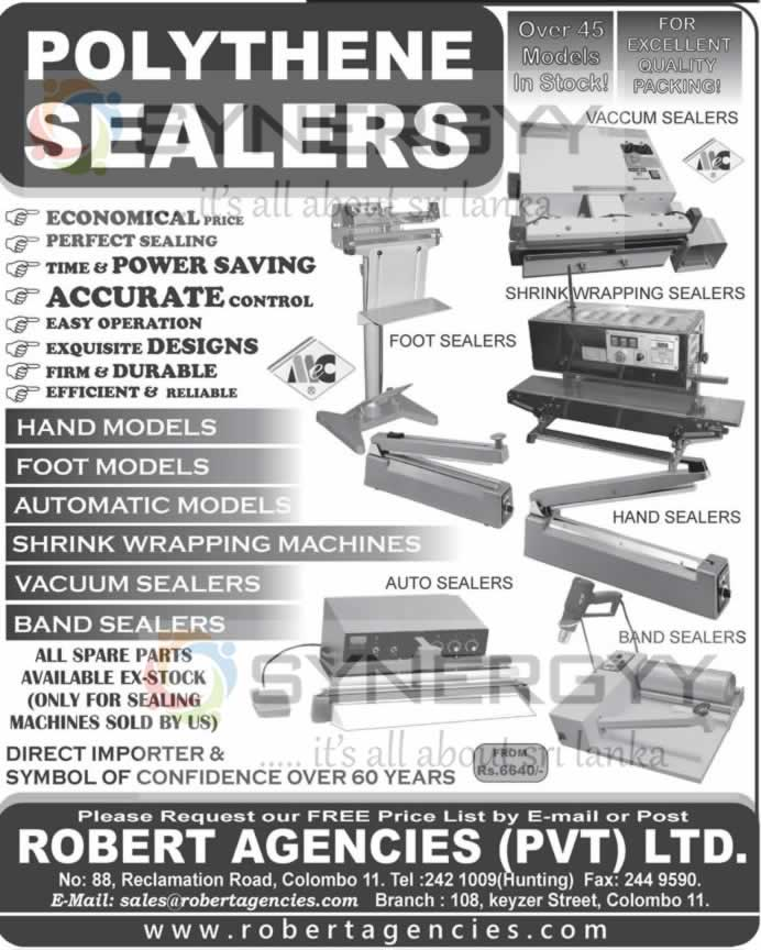 Polythene Sealers for Small Businesses