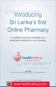Sri Lanka's first Online Pharmacy – Health Netbuy