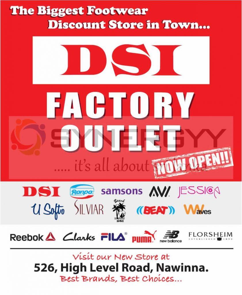 DSI the Biggest Footwear Sales