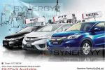 Honda Fit, Honda Grace & Honda Vezel Price in Sri Lanka