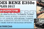 Mercedes Benz E350e Premium Plus 2017 for sale