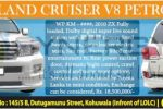 Toyota Land Cruiser V8 Petrol UZT-202 available for sale – Rs. 18.5 Million