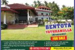 Bentota Yathramulla (Riveiside) Boutique Villa Hotel for Sale