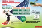 Nihon Green Power – Solar System for Rs. 390,000/- upwards
