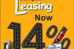 Sampath Bank leasing Interest – 14%  now