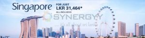 Fly Singapore for Rs. 31,464- only (all Inclusive Rate)