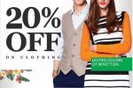 20% off from United Colors of Benetton