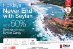 50% off when you Book Hotel Eden, The Paradise, The Calm and Dickwella Resort by Seylan Bank Credit Card