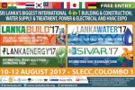 Building Construction, Water Supply & Treatment, Power & Electrical and Hvac Exhibition on SLECC from 10th to 12th August 2017