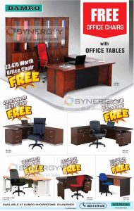 Damro Promotion – Free Office Chairs for Office Tables
