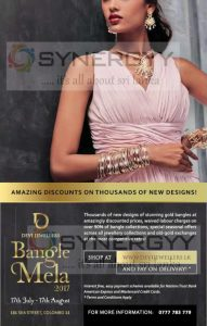 Devi Jewellers Bangle Mela 2017 – 17th July to 17th August 2017