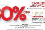 Enjoy 60% off With Seylan Credit Card at Aitken Spence Hotels (Promo Code Attached)