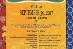 Sri Lanka Indonesia Friendship Association Charity Bazaar on 30th September 2017 at Indonesian Embassy