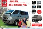 A Brand New Nissan Urvan NV350 Premier Priced Rs. 8,590,000/- in Sri Lanka