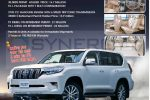 All New Land Cruiser Prado 2018 for Rs. 13.9 Million Upwards