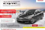 Brand New Honda Civic Price in Sri Lanka – Rs. 9,500,000/-