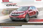 Honda CR-V 4×4 will be available in Sri Lanka for Rs. 7.5 Million for Permit Holders on January 2018