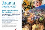 No Visa needed for travelling to Indonesia – Srilankan Airlines fly to Jakarta for Rs. 39,950/- Upwards
