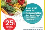 25% off for Commercial Bank Credit Card at Keell Super on every weekend in November 2017
