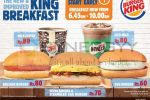Burger King Breakfast Menu