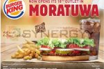 Burger Kings open its 18 Outlet in Moratuwa