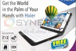 Haier Tab with Free Bluetooth keyboard and Leather Pouch – Special Discounted Price as Rs. 23,999/-