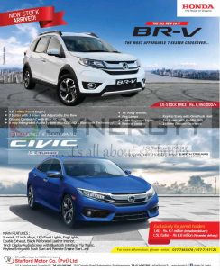 Honda Brand New Br V 2017 Available Now In Sri Lanka For Rs