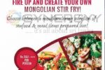 Mongolian Stir Fry at Gardenia Coffee Shop at Ramada Hotel