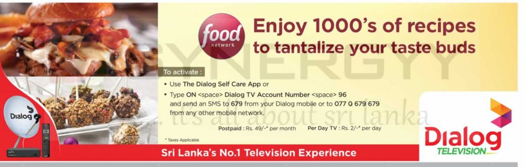 Dialog Tv Activation