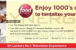 Dialog TV brought you Food Network at affordable price of Rs. 49 per Month