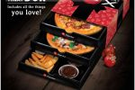 Pizza Triple Treat Box for Rs. 2,500/- in Sri Lanka