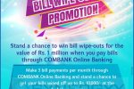 Commercial Bank Online Banking Bill Wipe out promotion