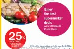 Discount upto 25% at Keells Super for Commercial Bank Credit Card