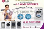 Do your laundry with LG wi-fi Inverter Washing Machine