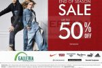 Galleria End of Season Sale – Discount upto 50% off
