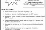 Information about ETF